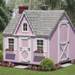8x8 pink victorian, new arch window