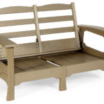 Decks Plus - Poly Furniture Loveseat