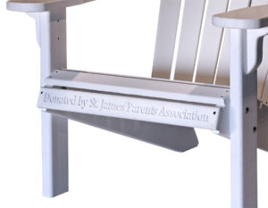 Decks Plus - Wooden Benches with Engraving