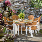 Decks Plus - English Garden Dining Furniture - Poly Furniture