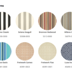 Poly Furniture Pattern Fabric - Decks Plus