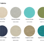 Poly Furniture Solid Color Fabrics - Decks Plus