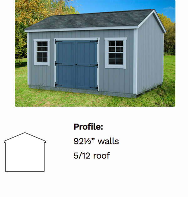 Ranch Sheds - Decks Plus