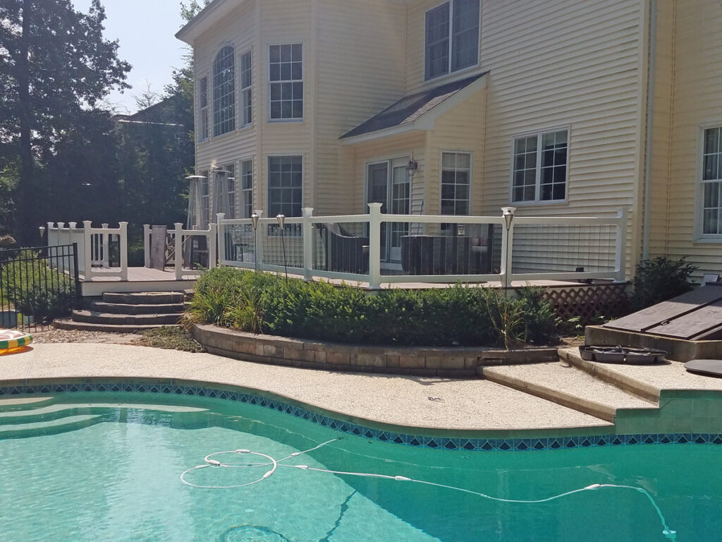 Pool Deck Install - Decks Plus