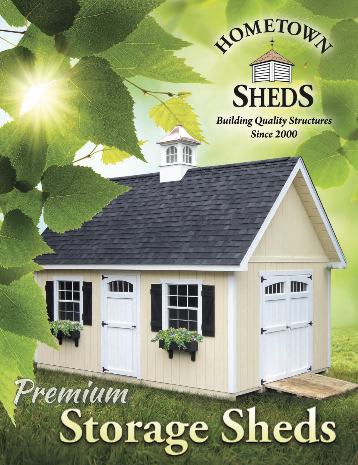 Hometown Sheds Catalog - Decks Plus